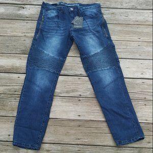 V1969 Abbigliamento Sport Slim Straight Men's Jean